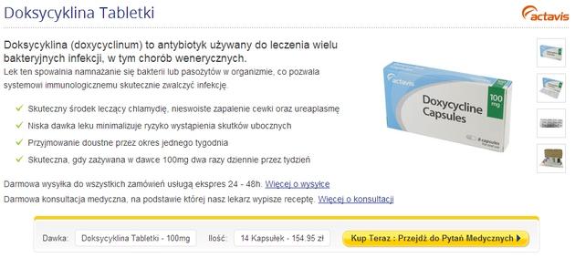 doksycyklina